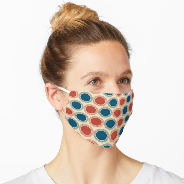 Poker Chips Mask by Annie C Designs at Redbubble