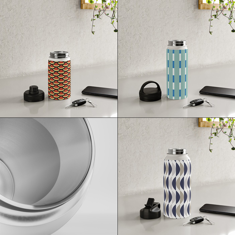 Water Bottles by Annie C Designs on Society6