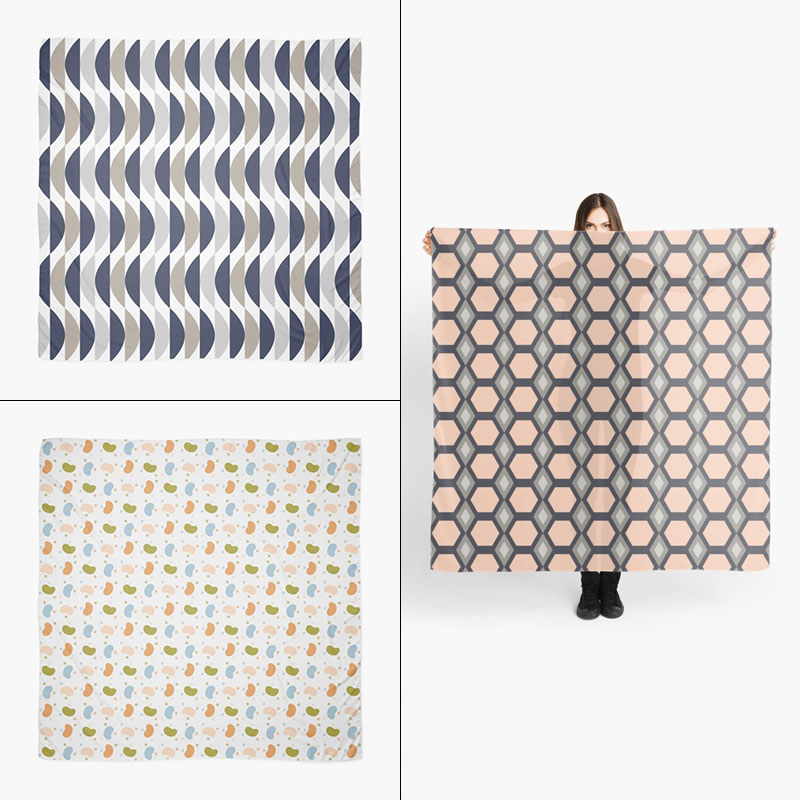 Scarves by Annie C Designs at Society6