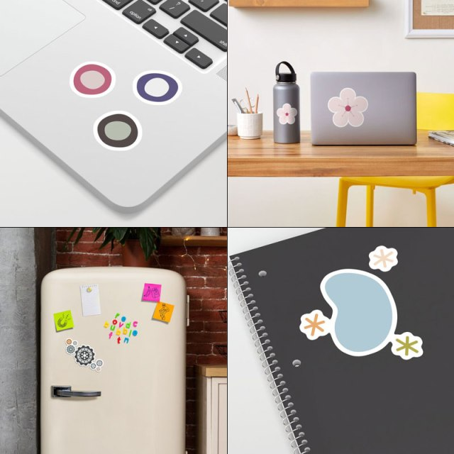 Stickers & Magnets by Annie C Designs on Redbubble & Society6