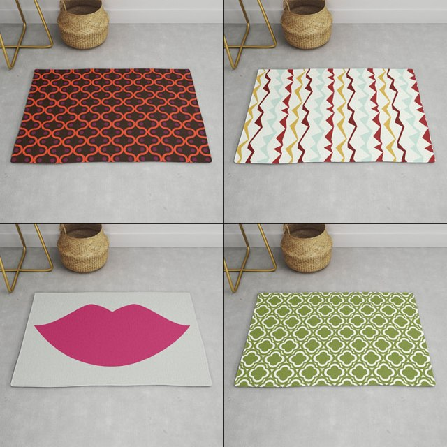 Rugs by Annie C Designs at Society6