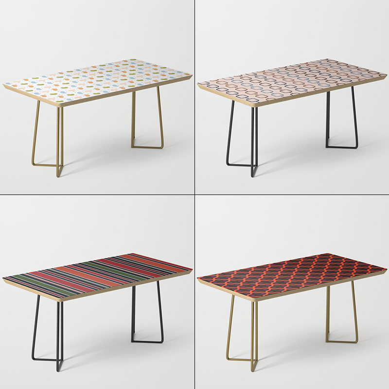 Coffee Tables by Annie C Designs at Society6