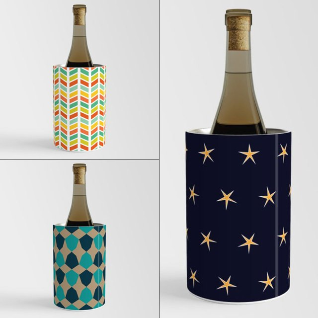 Wine Chillers by Annie C Designs at Society6