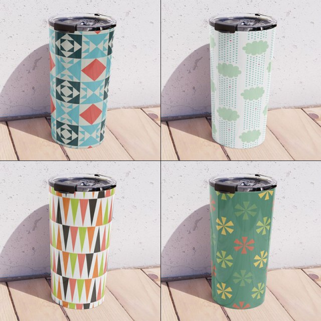 Travel Mugs by Annie C Designs at Redbubble and Society6