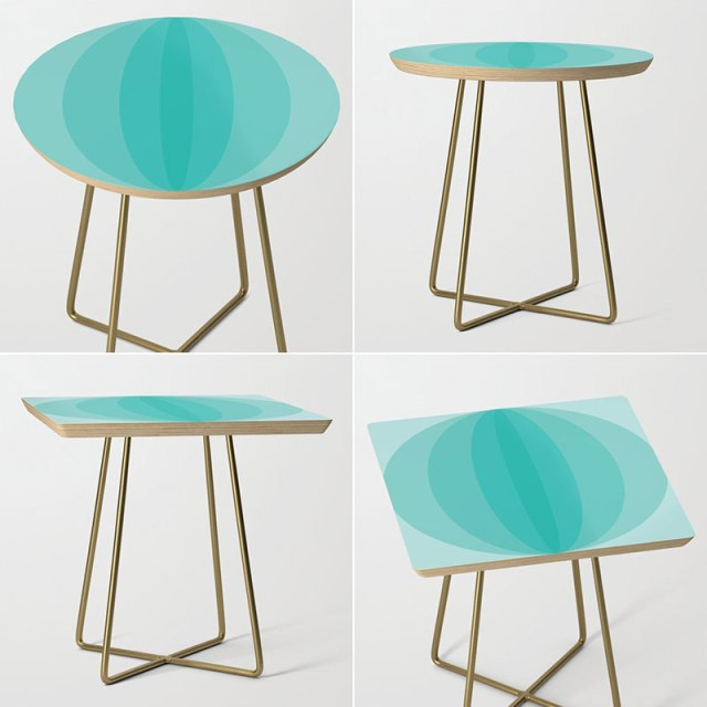 Side Tables by Annie C Designs at Society6